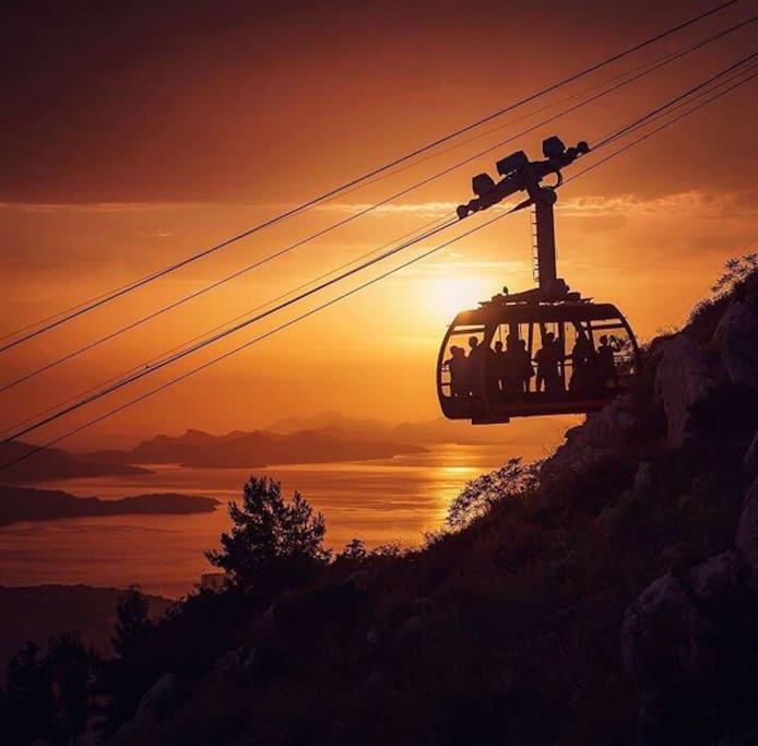 Dubrovnik cable car!