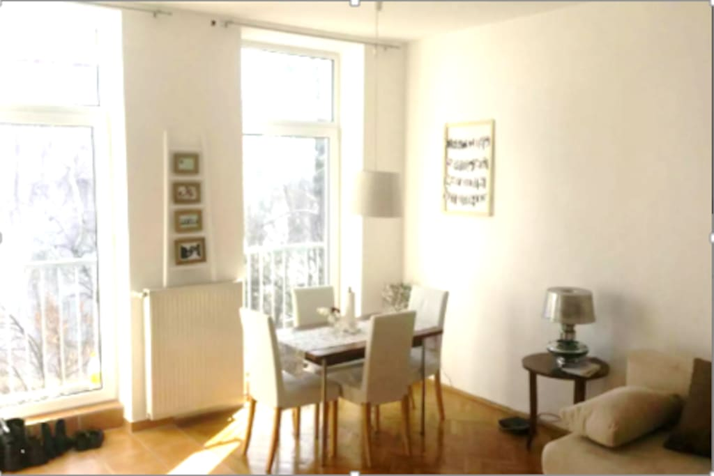 living room-Wohnzimmer