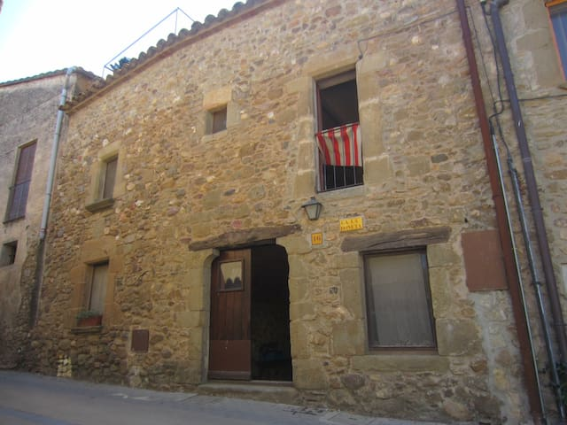 Traditional catalan house in Empordà countryside