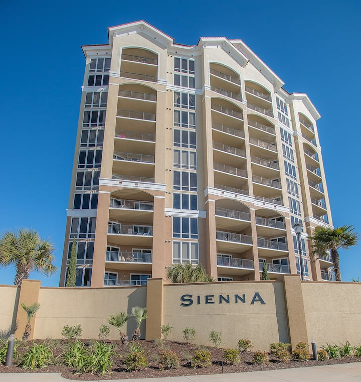 Sienna by Biloxi Beach Resort Rentals 2 Bedroom 2 Bath STD Sleeps 4