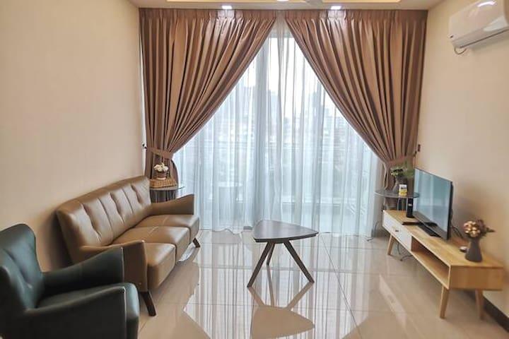 Paragon Suites @ Premium Cozy 2 bedroom - 4 pax