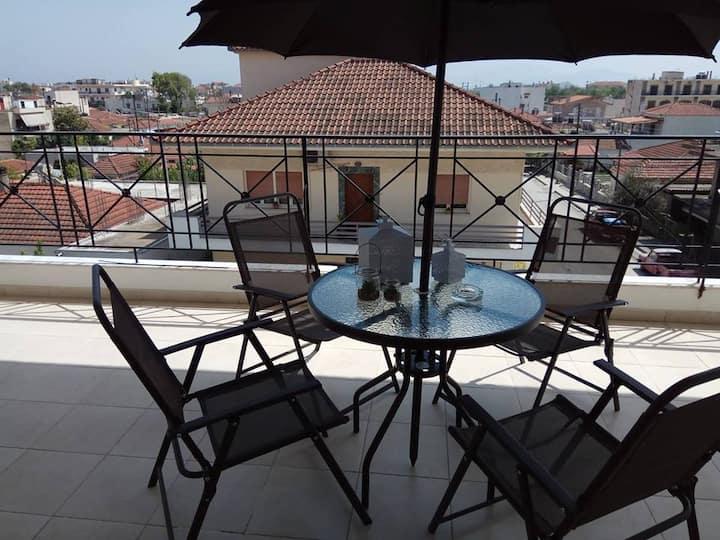 Cosy apartment in Nea Anchialos