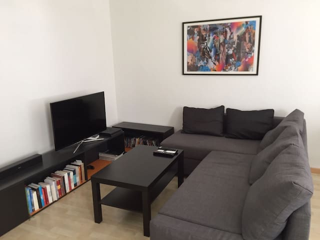 modern and centrally located 2.5 room apartment