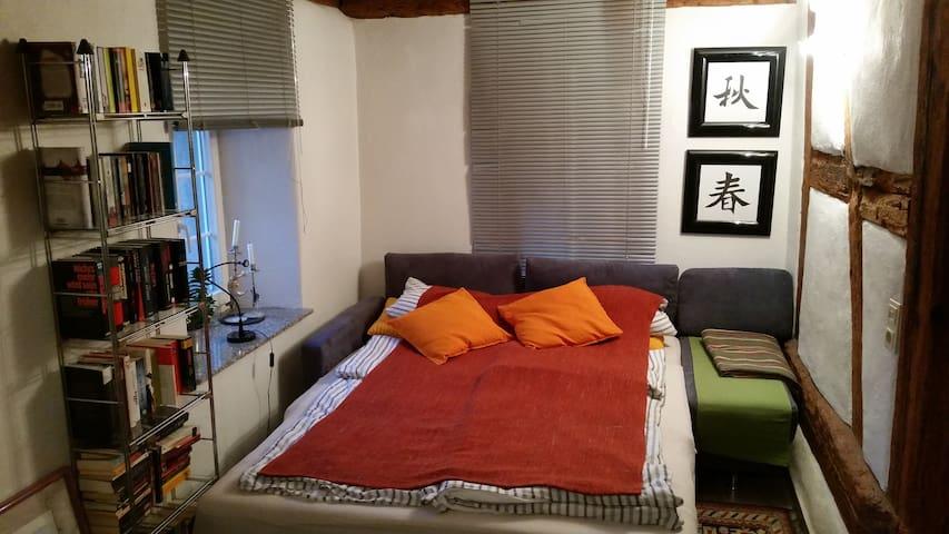 Sofa als Doppelbett. Liegefläche 1,60 x 2,00 m