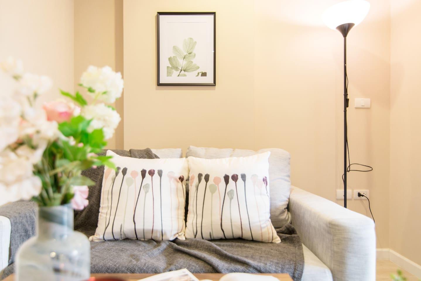 Soft sofa 舒适沙发