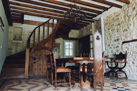 Belle maison en pierres avec piscine à Rocquemont - Crépy-en-Valois - 独立屋