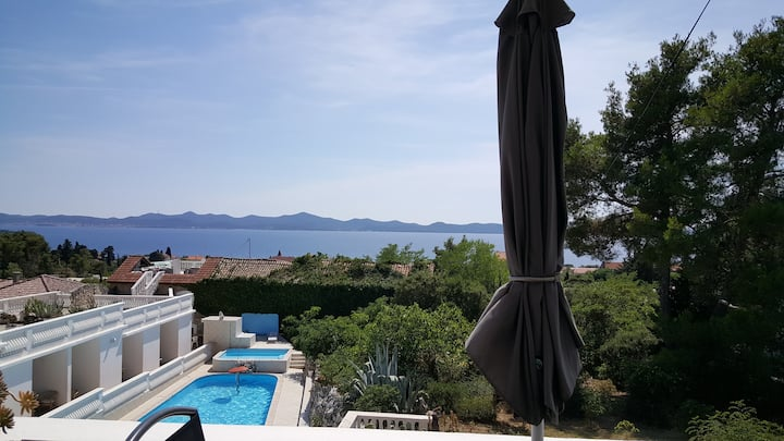 "Apt ""JELENA"" White House Zadar - 180° SEA VIEWS"