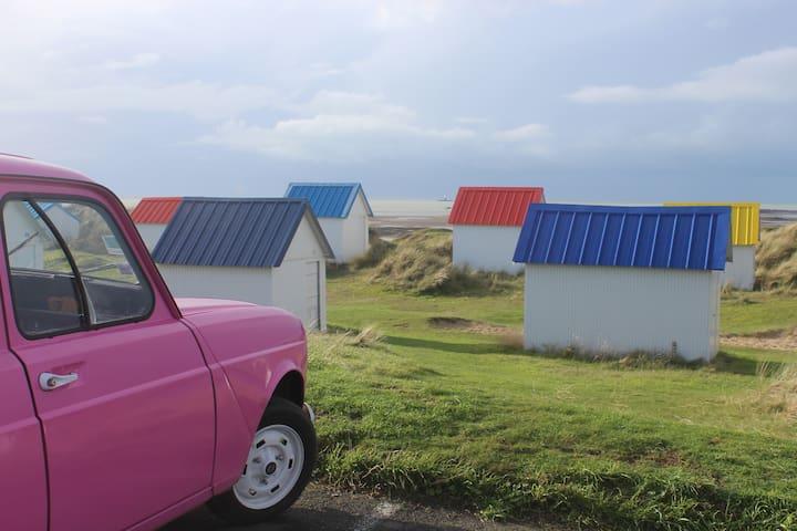 """Maison en pierre """"la campagne à la mer"""" - Gouville-sur-Mer - Rumah"""