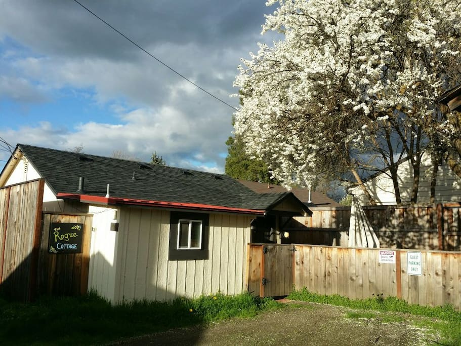 Spring at The Rogue Cottage!