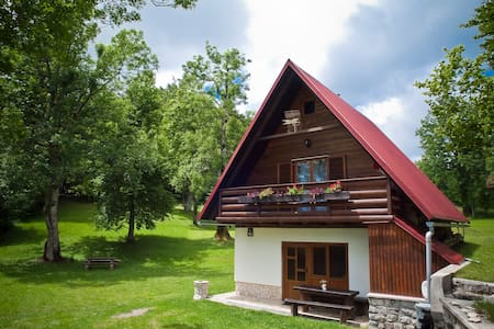 House Gale - Sunny, family friendly house - Delnice - Almhütte