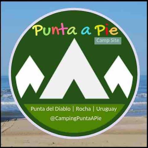 Camping Punta a Pie - camp site- Punta del diablo
