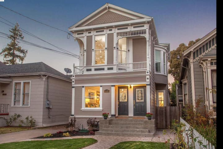 Modern living meets classic Bay Area Victorian.