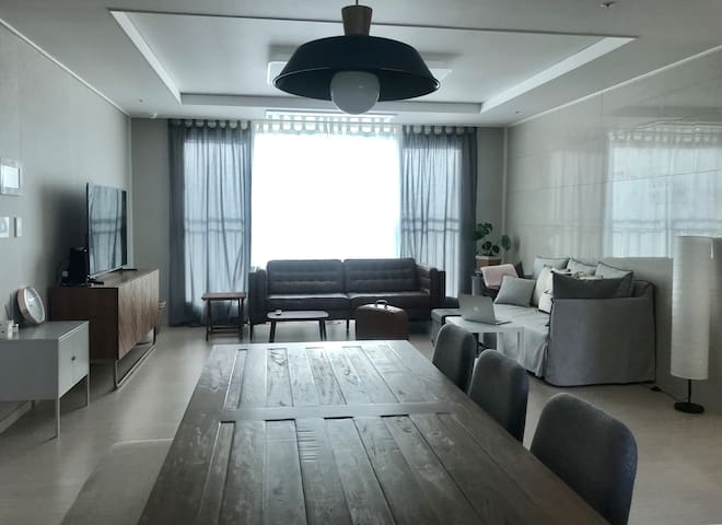 Relaxing sunny holiday apartment in Seogwipo City