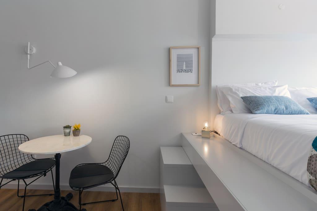 Maria Muralha Guest House – Estúdio com Vista Cidade