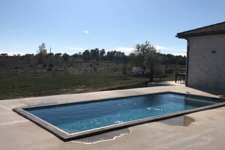 Gîte Les Oliviers 4/6 personnes avec piscine ext.