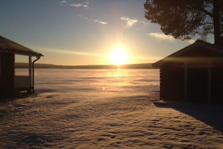 Året runt stuga vid älven - Luleå