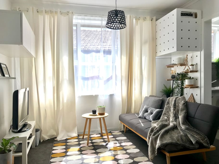 Light and cosy living