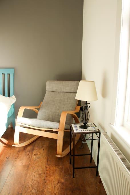 Airbnb Room - armchair