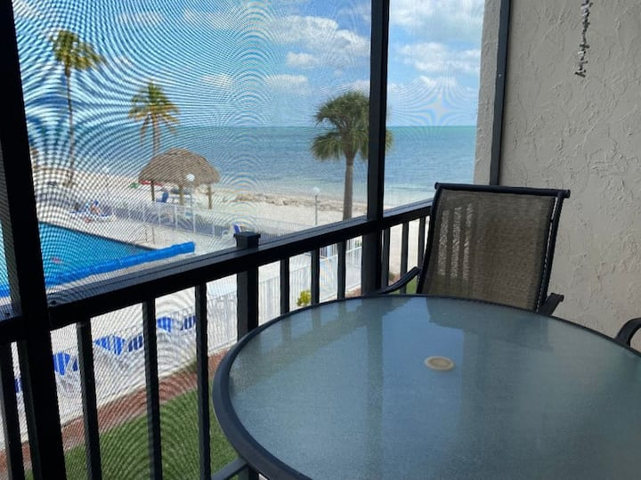 Mid-Keys Ocean View 2 bd Condo LRG Heated Pool #13