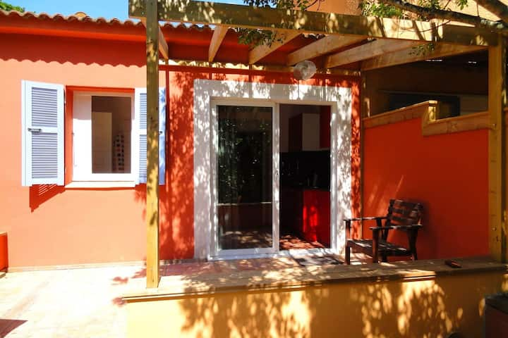 Charming Holiday Home in Poggio-Mezzana, 150 m from Beach