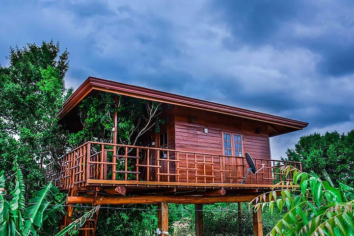 Tree House with Lake View - Hambantota - Apartament