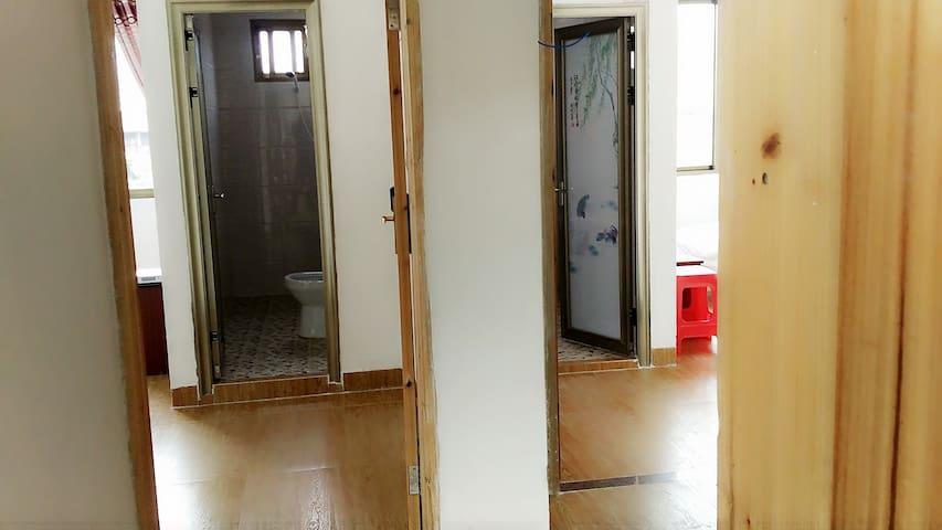 观景大床房、双人床 - Zhangzhou - Apartamento