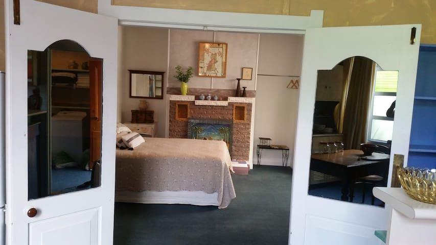 Studio room next to to kitchen