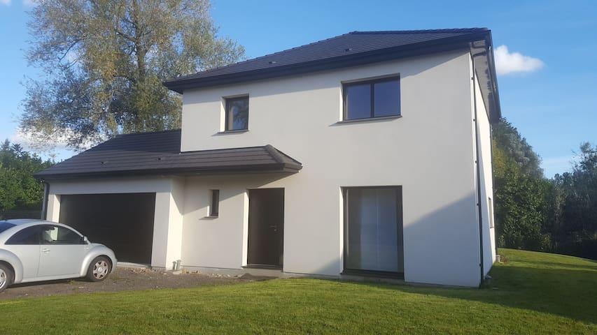 Chambre privée Maison avec jardin à prox d'Arras