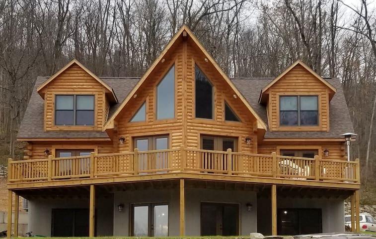 """Bear Mountain Lodge""on Susquehanna River, PA Wild"