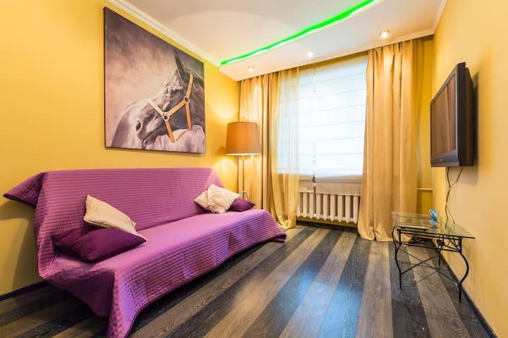 Cozy Studio Apartment near VDNKh - Moskva - Apartment