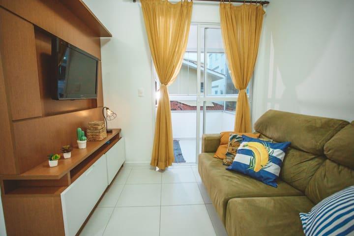 Lindo apartamento na praia de Palmas