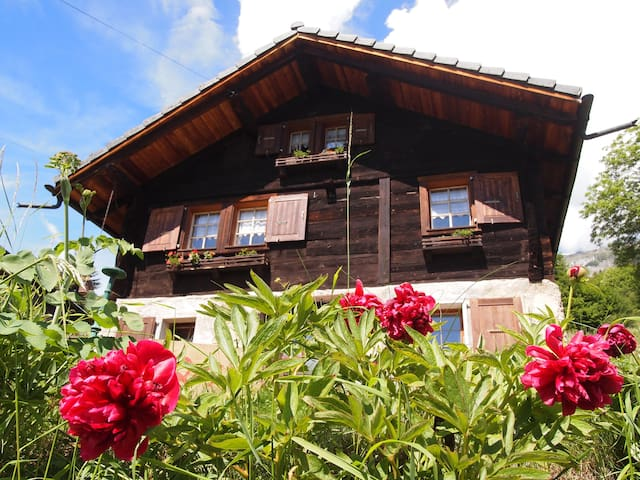 Chalet in the Alps of Valais - Erde - Chalet