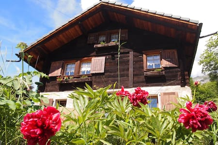 Chalet in the Alps of Valais