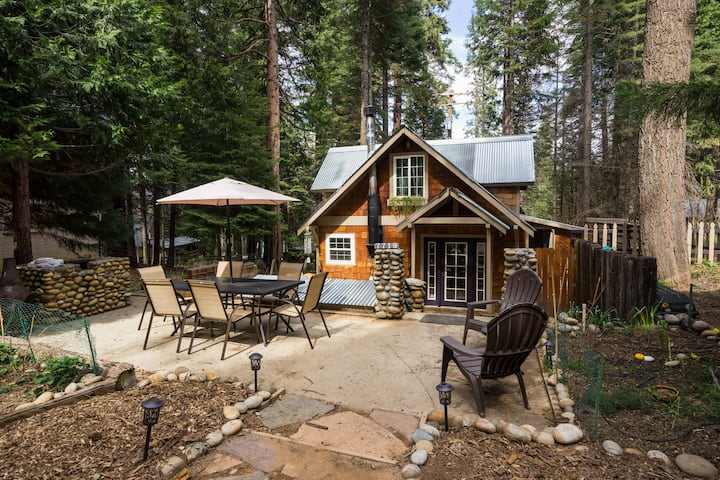 Cozy Yosemite Cabin w/ Hot Tub in the Pines.
