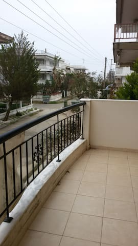 Nice apartment 70 m from sandy beach for you - Chalkidiki - Lejlighed
