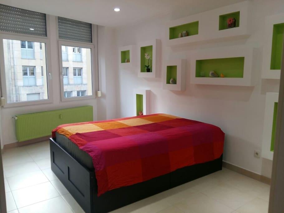 Beautiful, bright and big bedroom