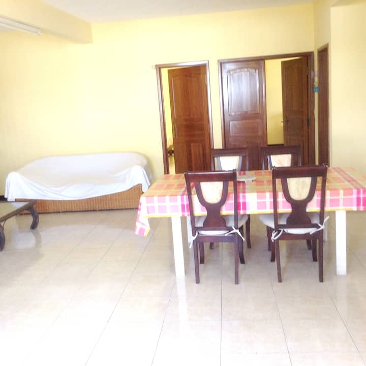 Apartment with 2 bedrooms in Trou aux Biches, with furnished garden and WiFi - 200 m from the beach
