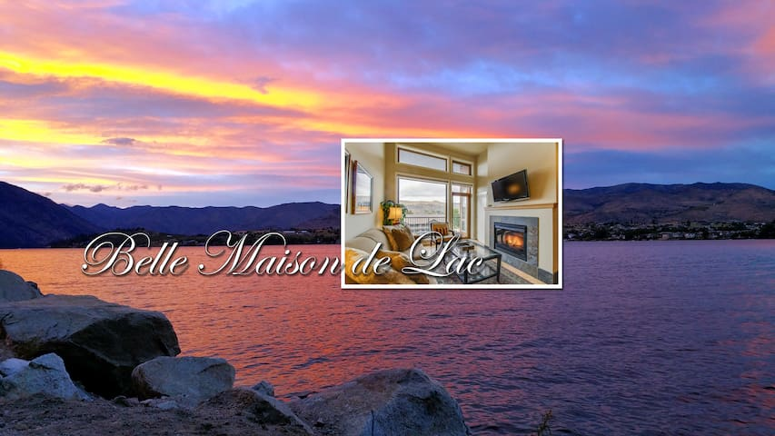 Chelan Resort Suites #405 Top Floor Lake View!