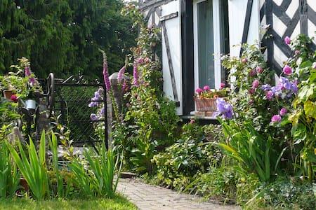 Charmant cottage normand: nature et animaux - Épaignes - Dom