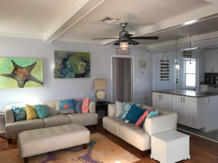 Three Oars Beach Bungalow directly on A1A