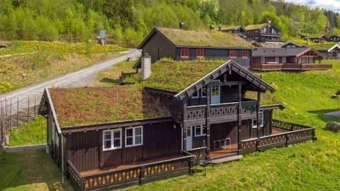 Topp utstyrt hytte ved Hafjell Alpinsenter