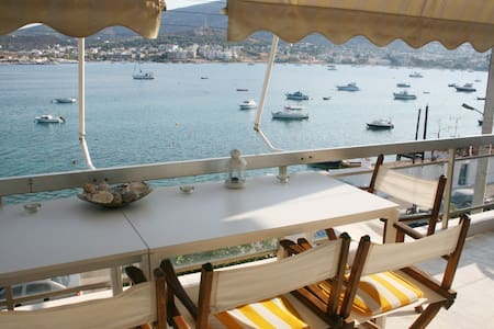 Bright apartment on the beach - Porto Rafti - 아파트