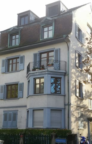 Cozy Suite, Private BR sleeps 2 + Private Lounge - Basel - Daire