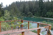 Deck Overlooking Smith River