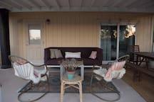 Outdoor Living Room Setup