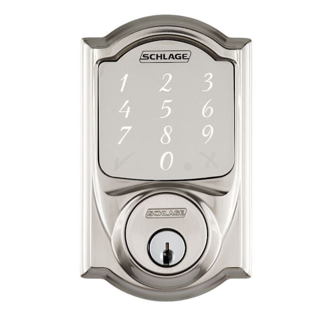 The Schlage Sense lock : The Lock gives you truly Key-less convenience . Create access codes by yourself, Lock and Unlock the door without any key.