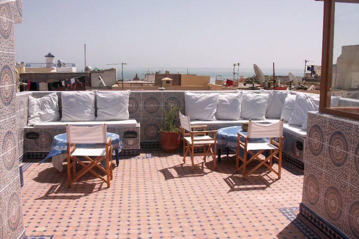 terrazza in comune