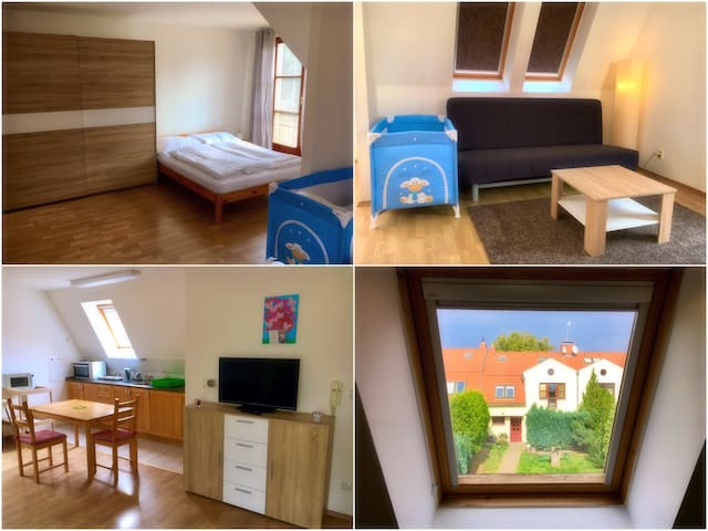 Prahouse B - Flat for family or friends