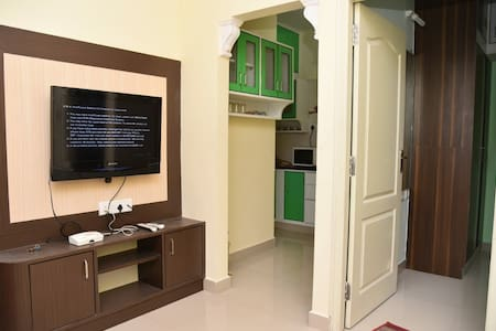 One Bedroom Home@ HSR, Bangalore.Very close to BDA