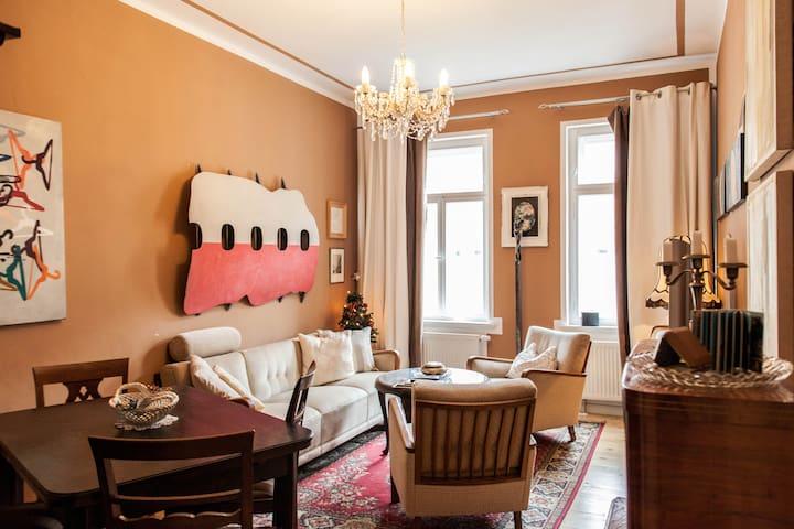 gemütliche Wohnung in LeipzigSüdOst - Leipzig - Appartement